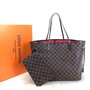 %100 AUTH Louis Vuitton Neverfull GM Bag